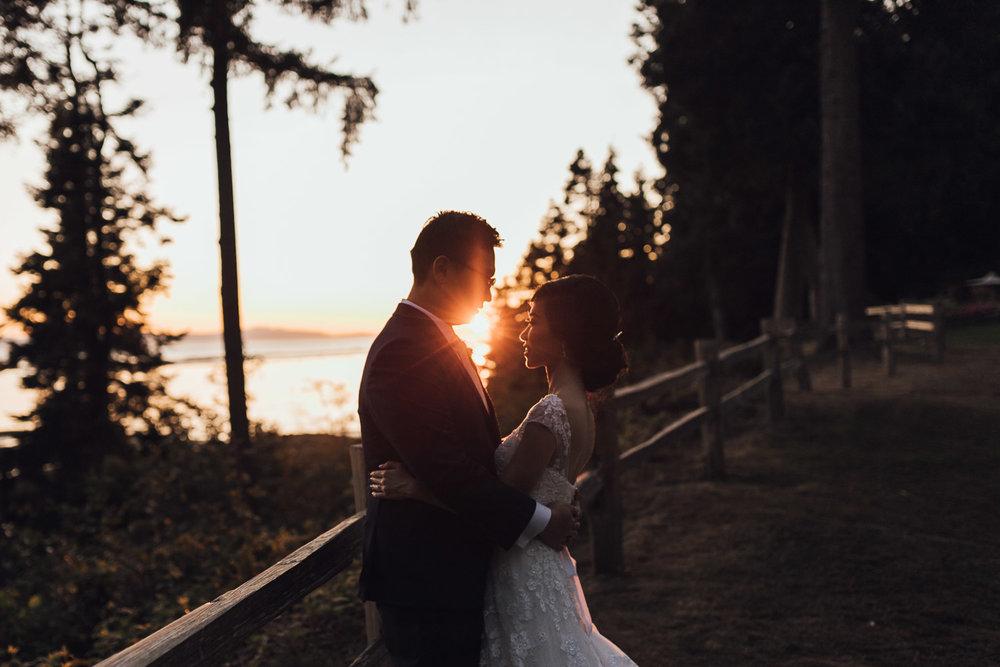 shaughnessy golf club wedding photography sunset