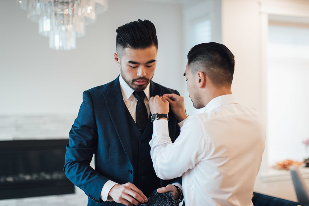 groom getting ready details vancouver wedding photography