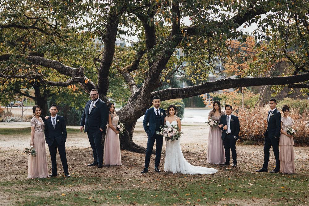 queen elizabeth park wedding photography portrait bc