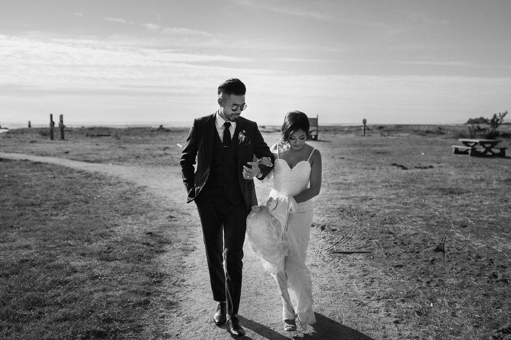 richmond bc iona beach wedding photography