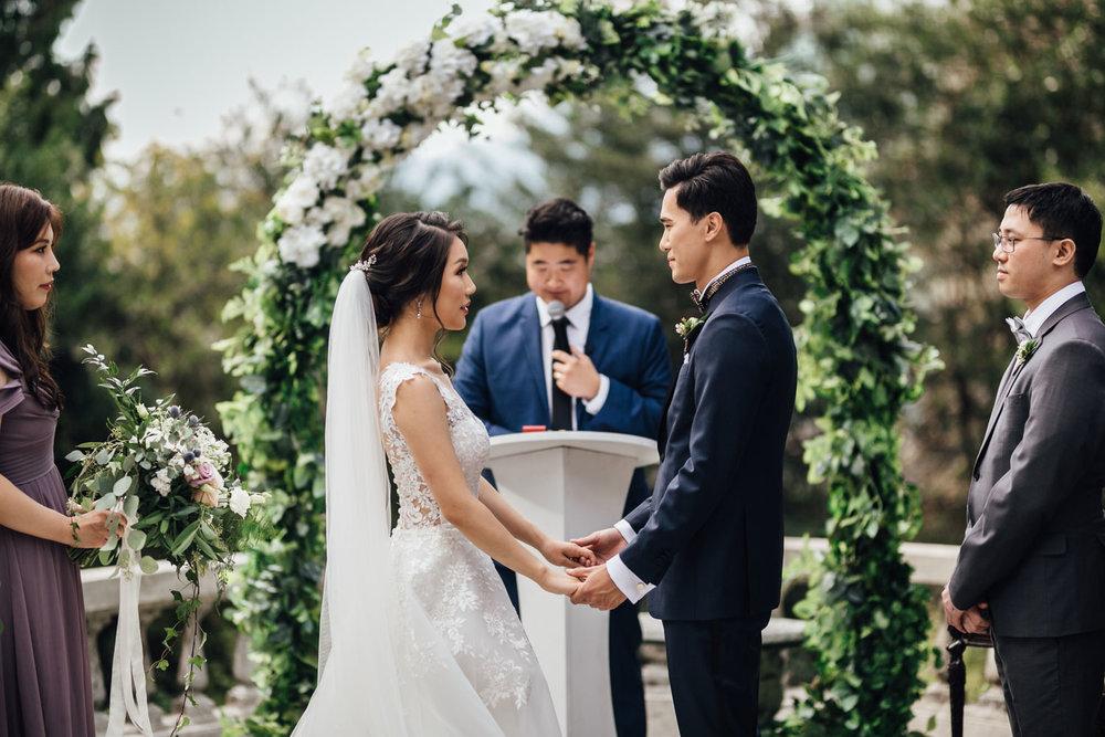 vancouver korean wedding photography hycroft manor terrace
