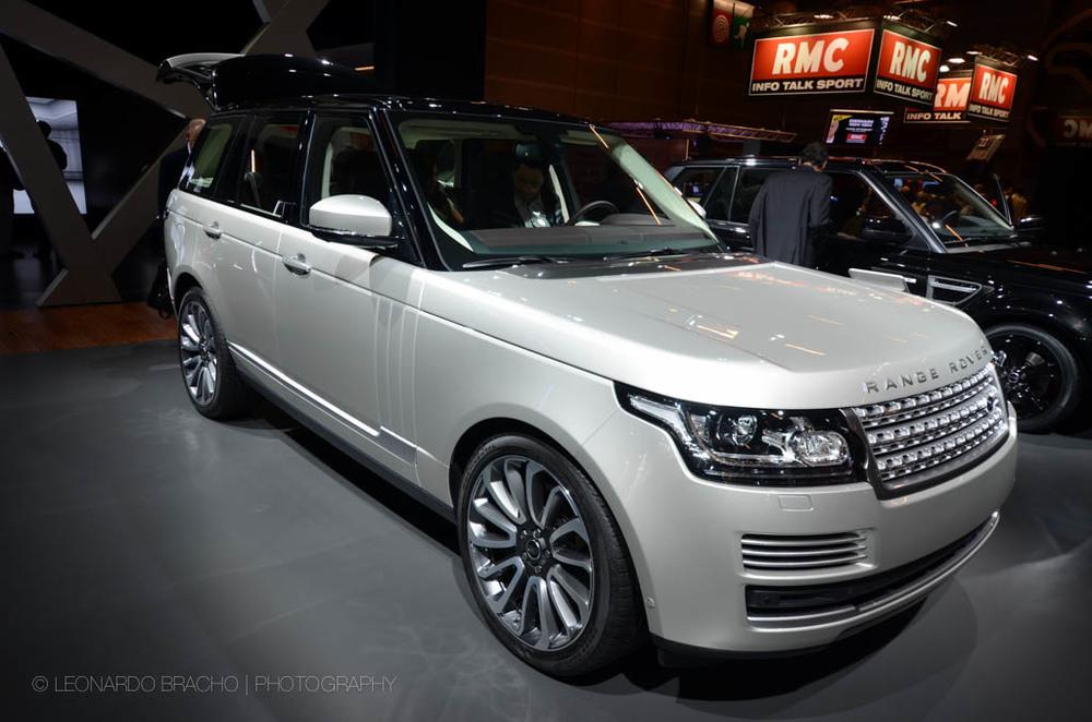 La nueva Range Rover. M'as liviana, igual de grande. Nice!!
