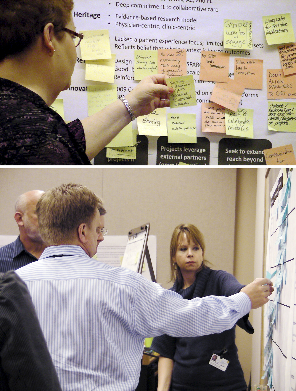 Co-creation invention sessions with stakeholders