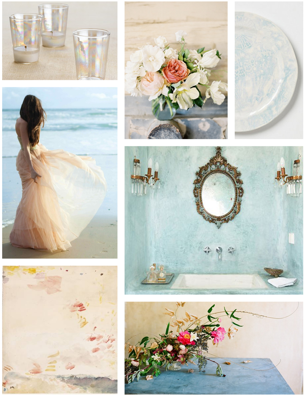 beach-wedding-inspiration-board-blue-peach-pink