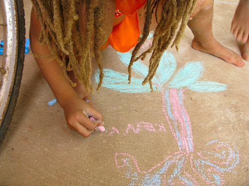 2 Drawing in chalk.jpg