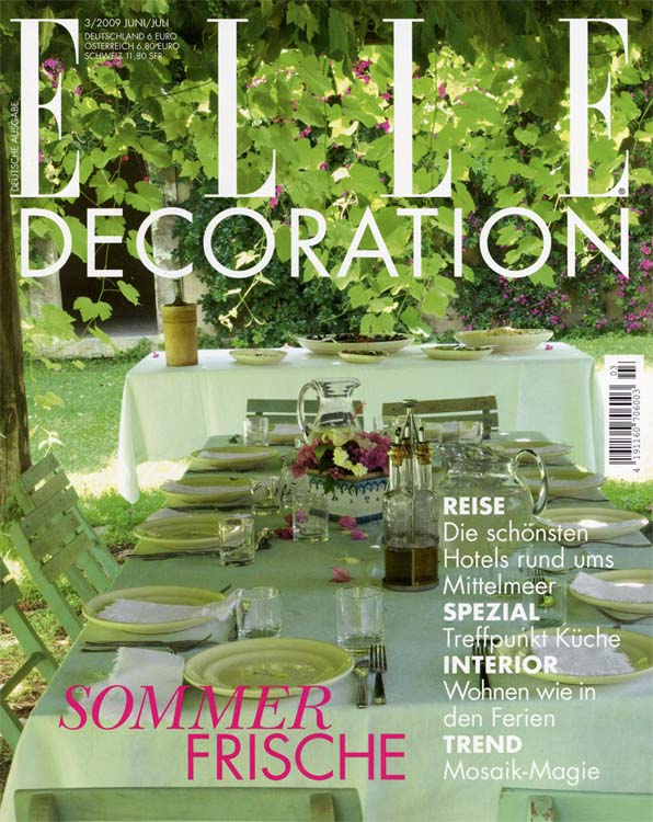 ELLE DECORATION 2009