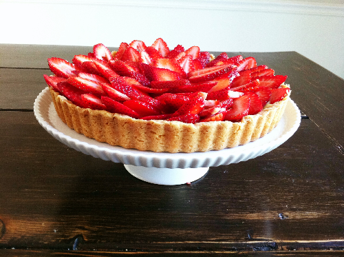 fruit tart with almond pastry cream | hello, sweetie!