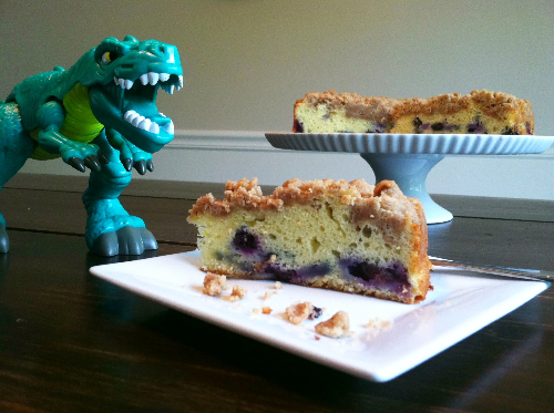 blueberry sour cream crumb cake | hello sweetie!