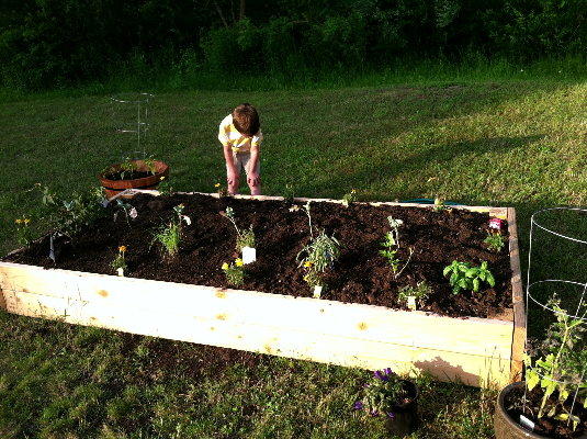 raised bed garden | hello, sweetie!