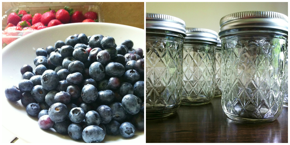 summer berries & jars | hello, sweetie!