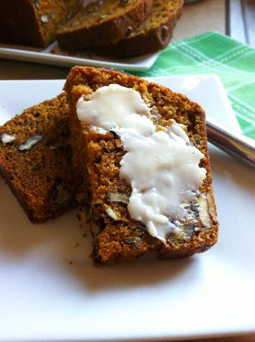 pumpkin pecan quick bread | hello, sweetie!