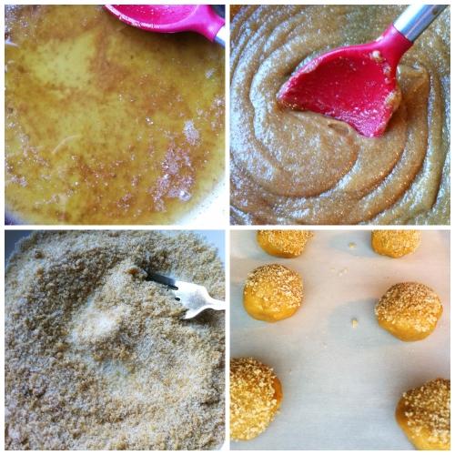 making browned butter sugar cookies