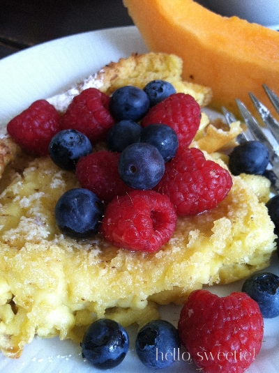 dutch oven pancake | hello, sweetie!