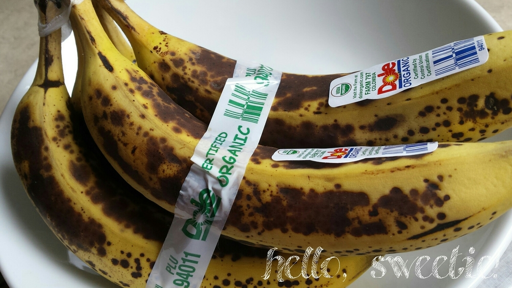 the perfect bananas | hello, sweetie!