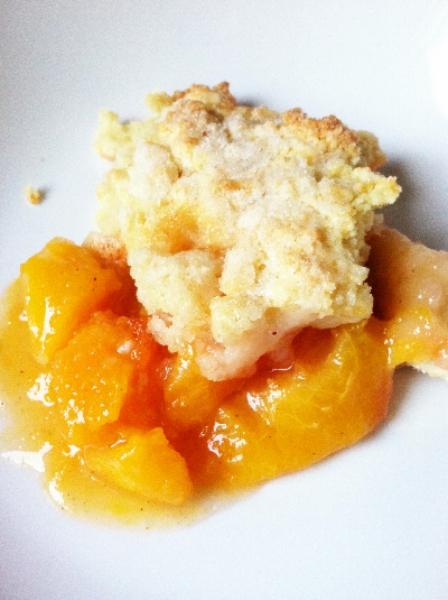 peach cobbler | hello, sweetie!