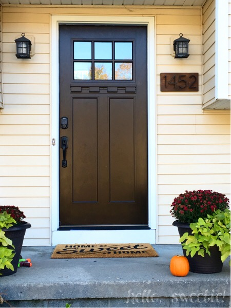 Tips on updating your front entry | Hello, Sweetie!