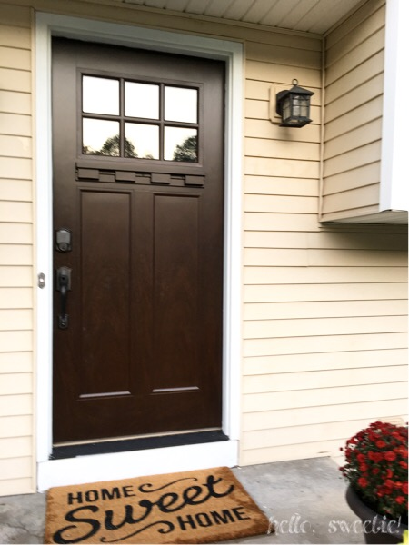 A new front door can make all the difference in transforming your space.