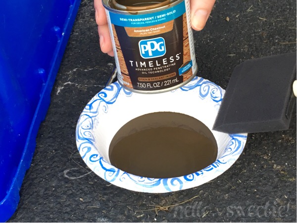 Use a stain that protects as well as looks great!