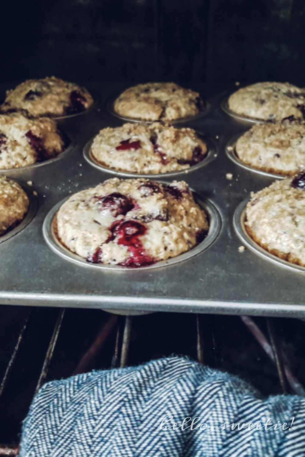 There's something special about freshly baked muffins that draws a crowd to the breakfast table!
