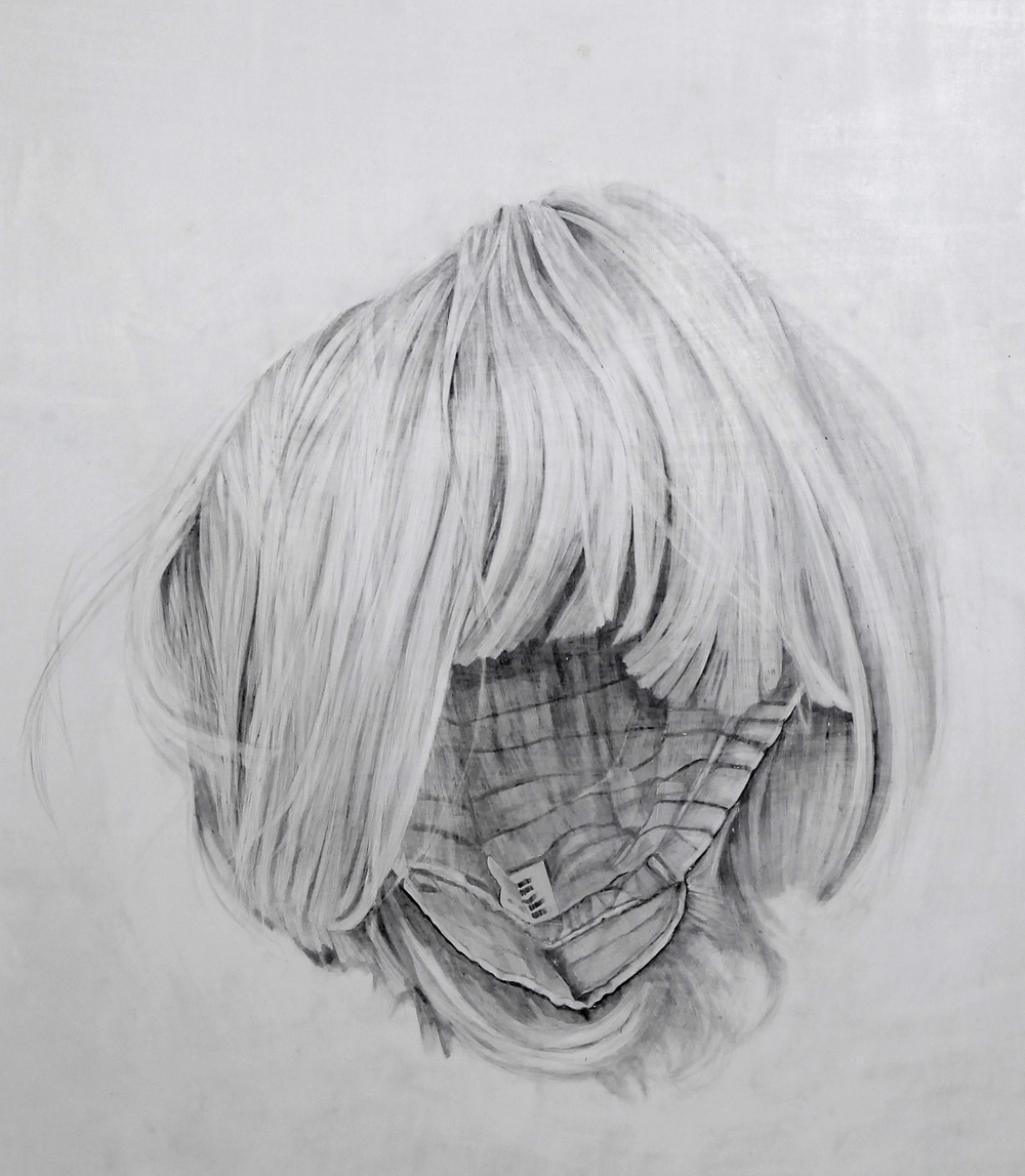 Detail of 'Empty Wig'