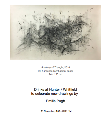Solo show, Hunter/Whitfield gallery , London, 9th November-December 2016