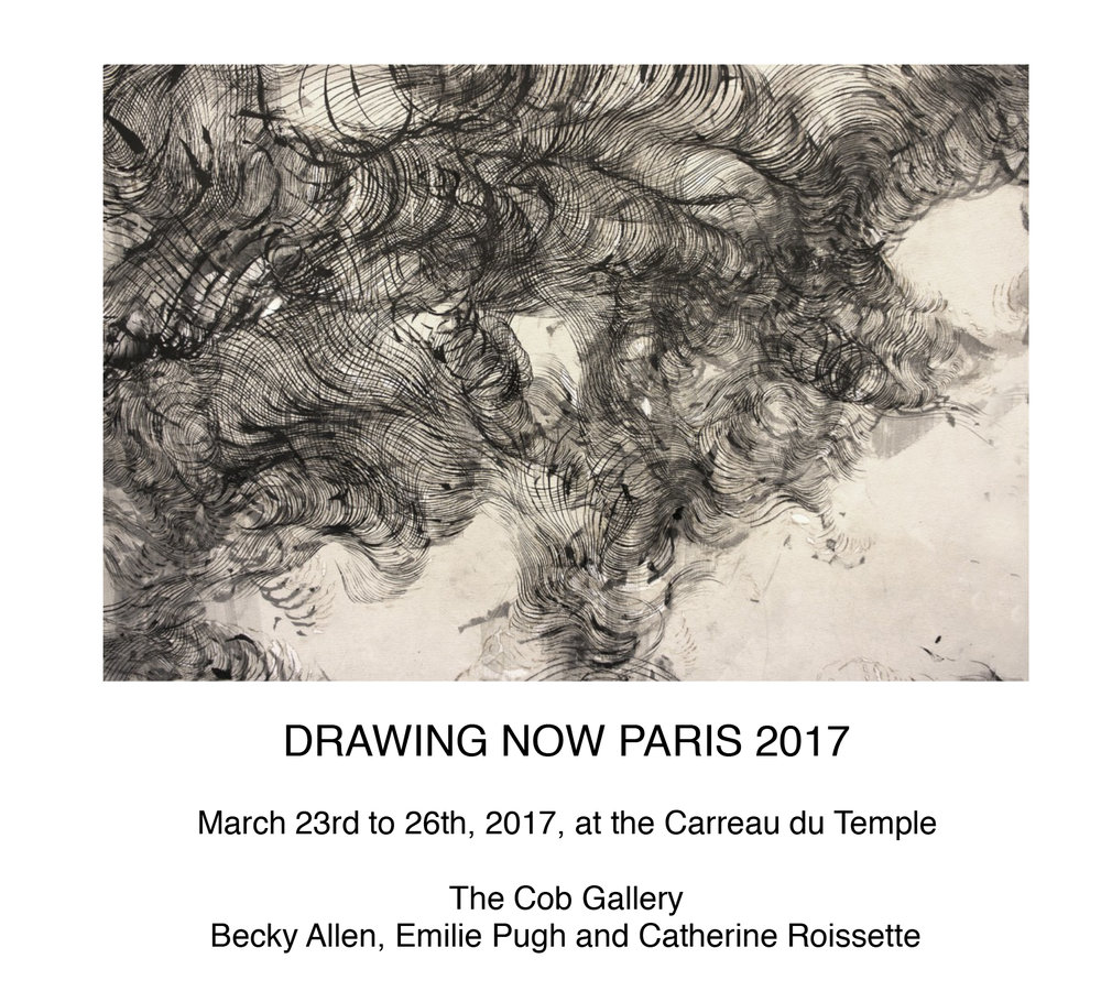 Drawing Now, Cob Gallery, Paris 2017