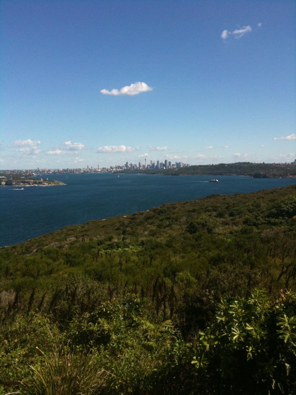 Enjoying life in Sydney