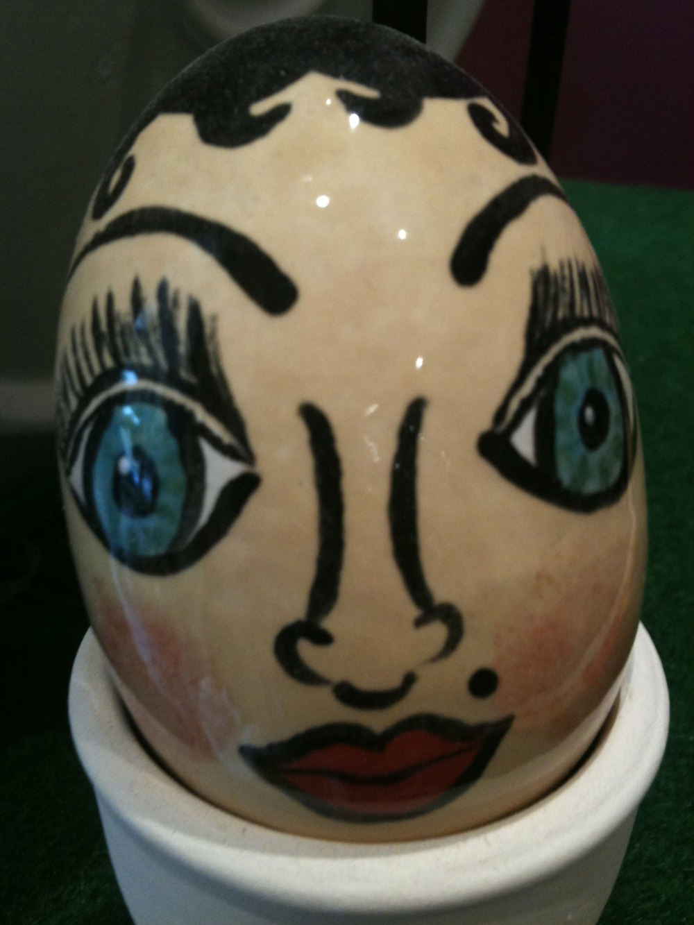 Easter ceramic makeovers