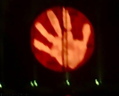 Hand Up Close