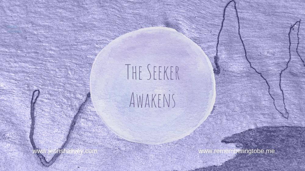 Latest episode 004 - The Seeker Awakens - Following from last week's introduction episode this the first episode of a series called 'Remembering to Be Me'. This episode explores the idea of what it means to be a seeker and on a path of self discovery. The episode helps you to look at the signs that you are a seeker and then help you to to determine if you are on a path now. Then Jenn explores three big questions to help you reflect and navigate further. Also Jenn includes insights for the word of the episode.