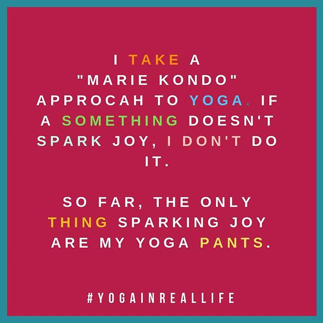 I've got spring cleaning on the brain—which means I'll Just watch #tidyingupwithmariekondo on #netflix and not do any actual cleaning. Yeah, that's what #sparksjoy for me..
