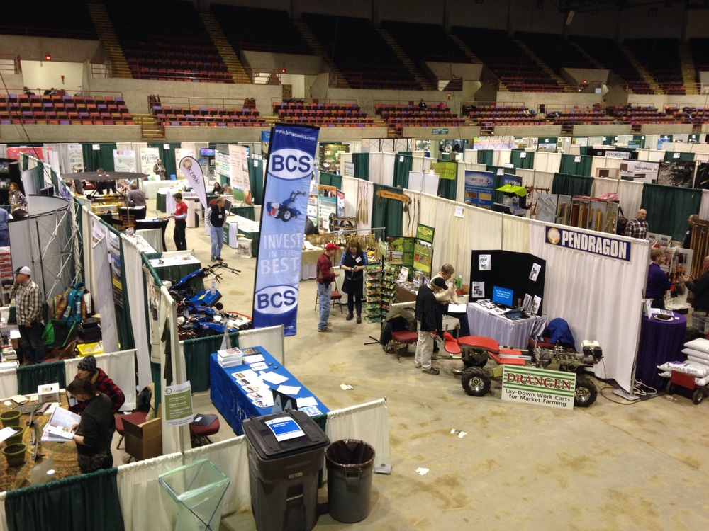 Exhibit Hall at MOSES 2015
