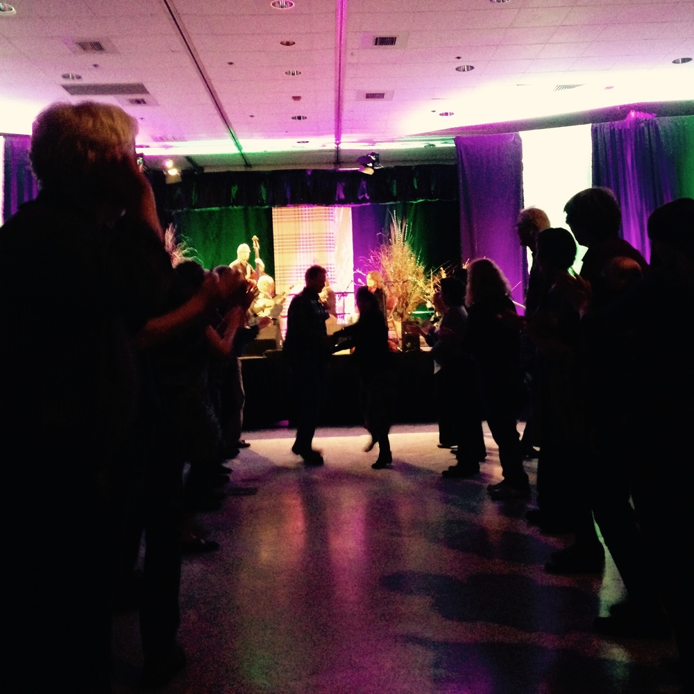 Contra Dance at MOSES 2015