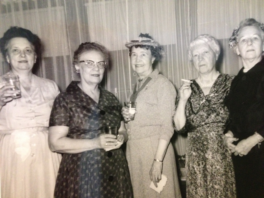 Aunt Dade is second from right
