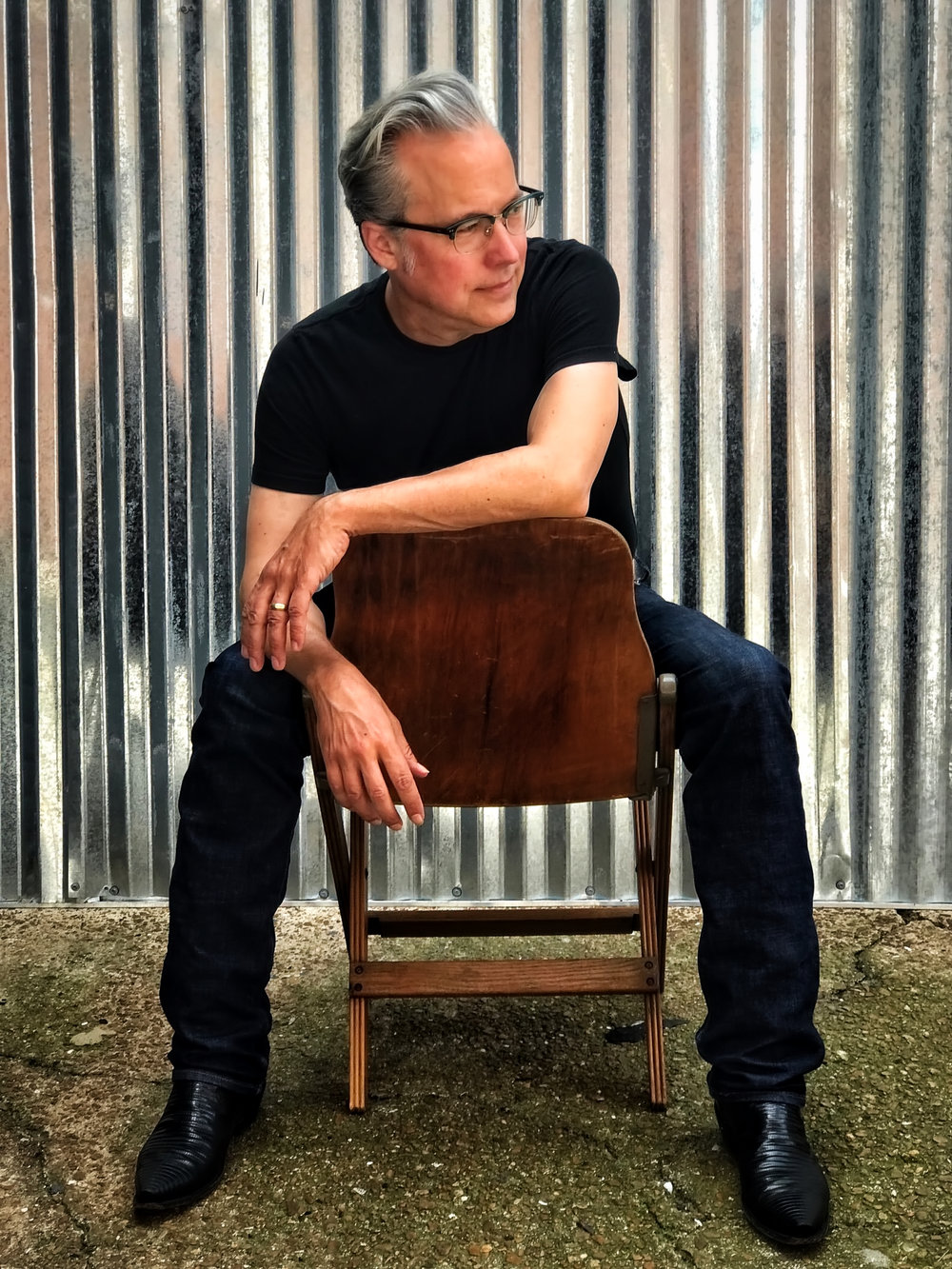 4. Radney Foster - 11/16 with Bobby Houck and Finnegan Bell at Woolfe Street Playhouse