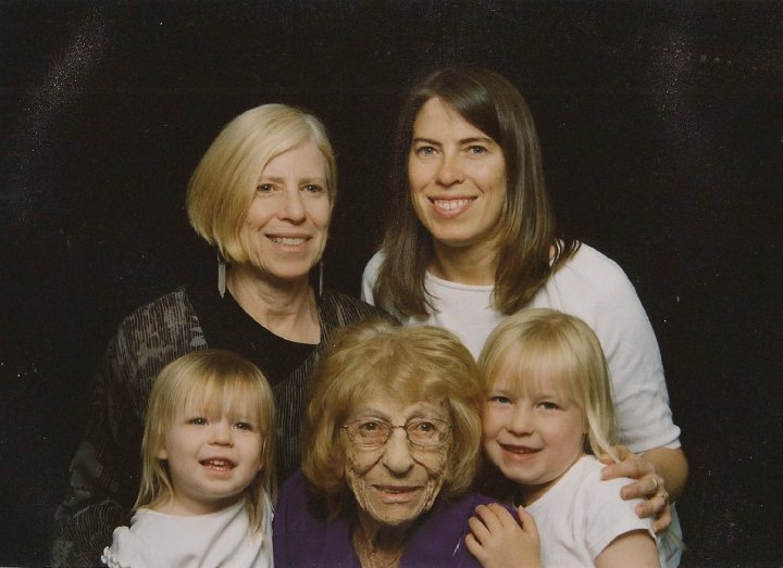 Four Generations of Strength and Beauty!