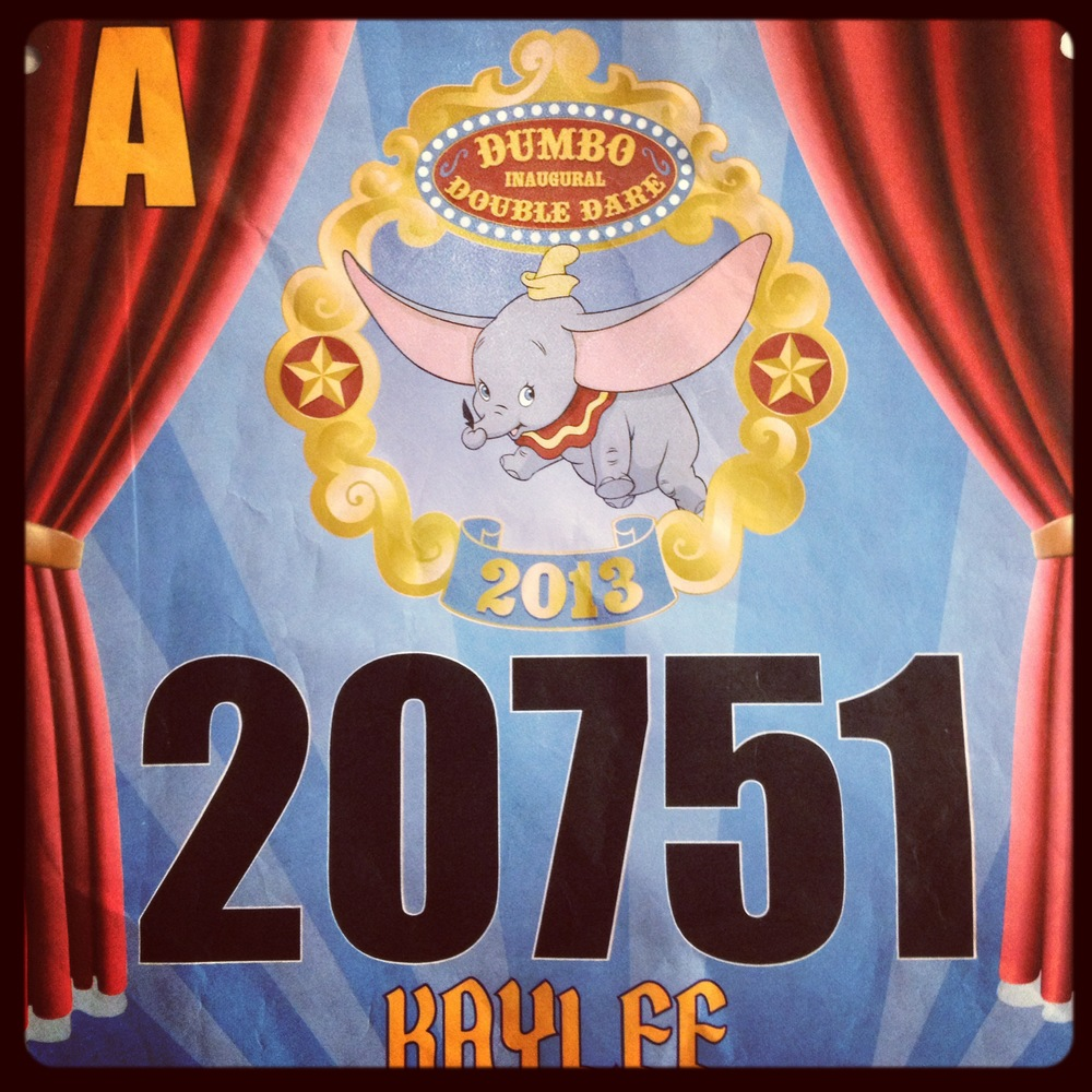 My official bib, although I did not run with this bib due to timing chip error.