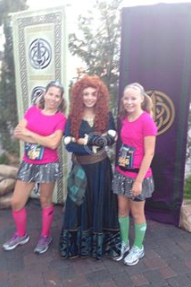 Jaide and I at last years Disneyland Half!