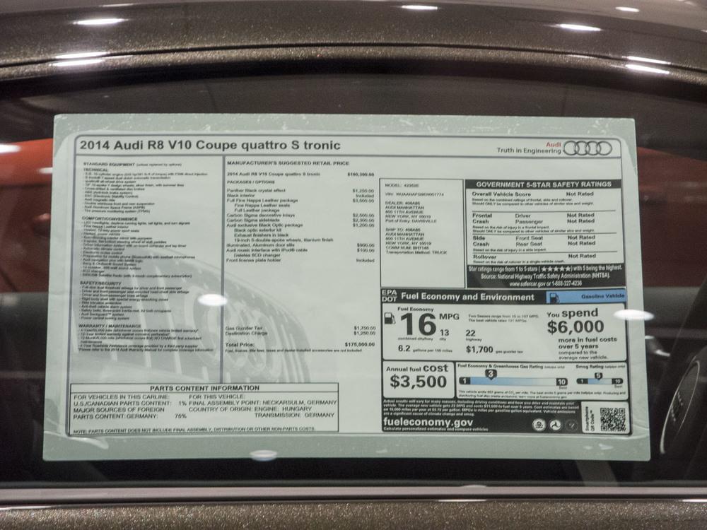 $160,000.00 Audi
