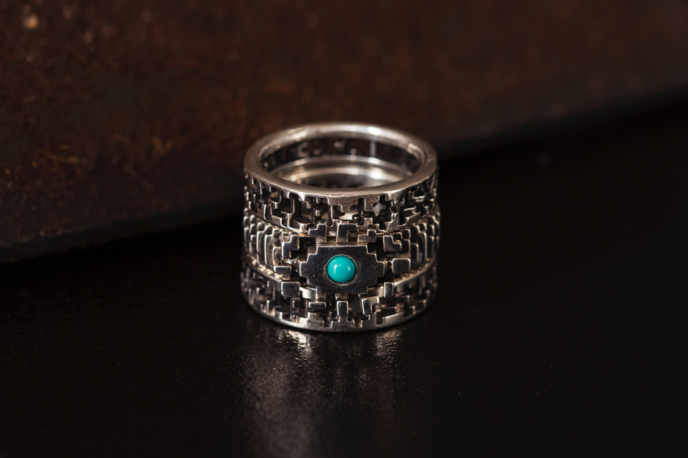 Pixel Eye Ring Stack LucasPlus