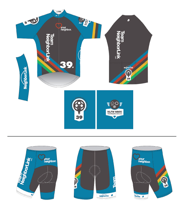 Cycling Jersey & Shorts