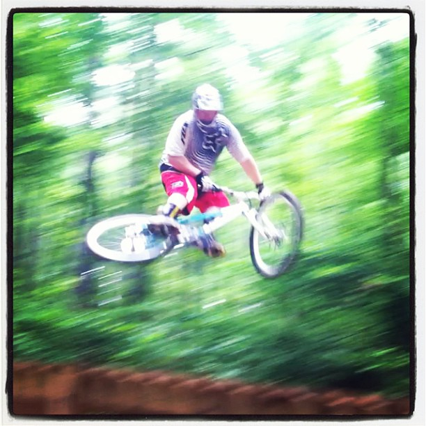 Sideways at Big Creek