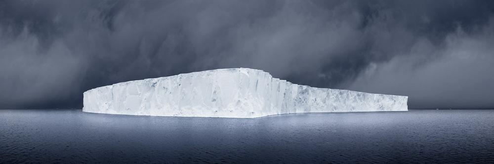 "David Burden ""Blue Monday, Antartica"""