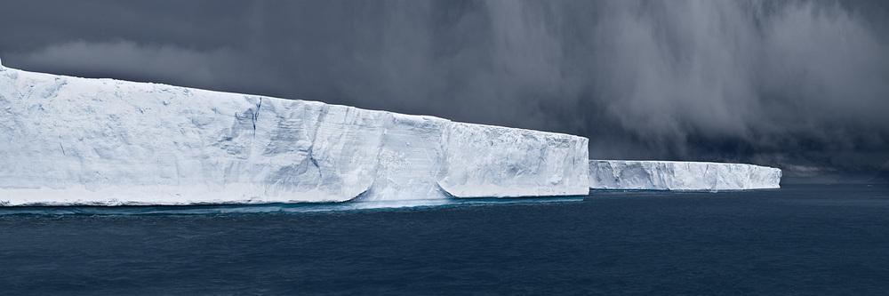 """David Burdeny """"Tabulars in Hope Bay, Antartica"""""""