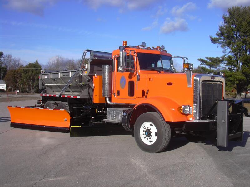 This 2013 Peterbilt is the latest addition to the Leelanau County Road Commission snowplow fleet.