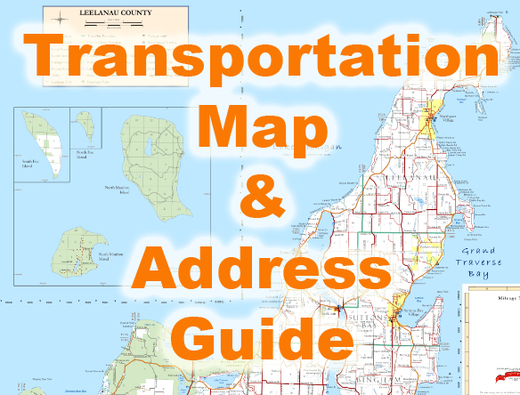 Follow this link for a PDF of the Leelenau County transportation map.