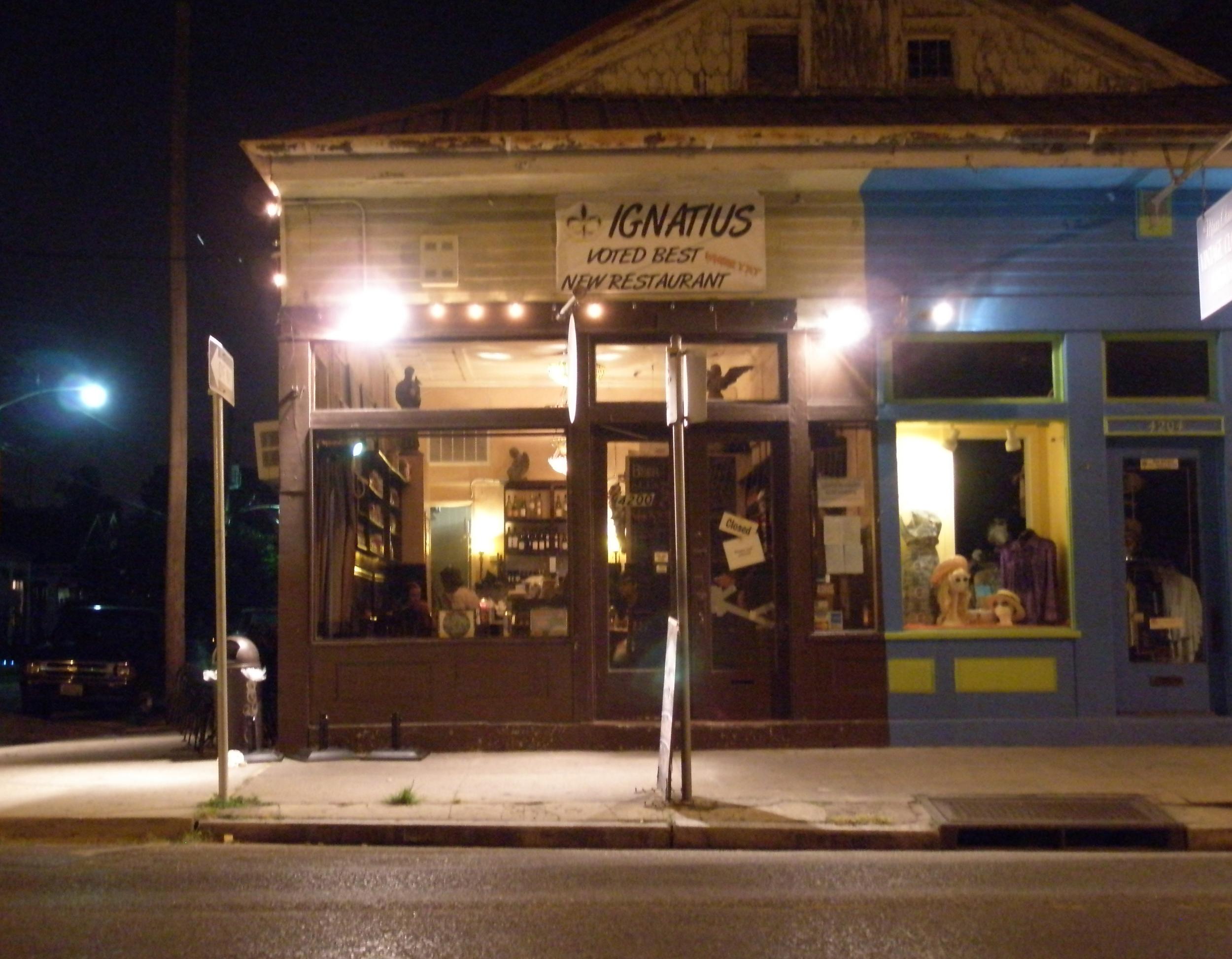 ignatius restaurant