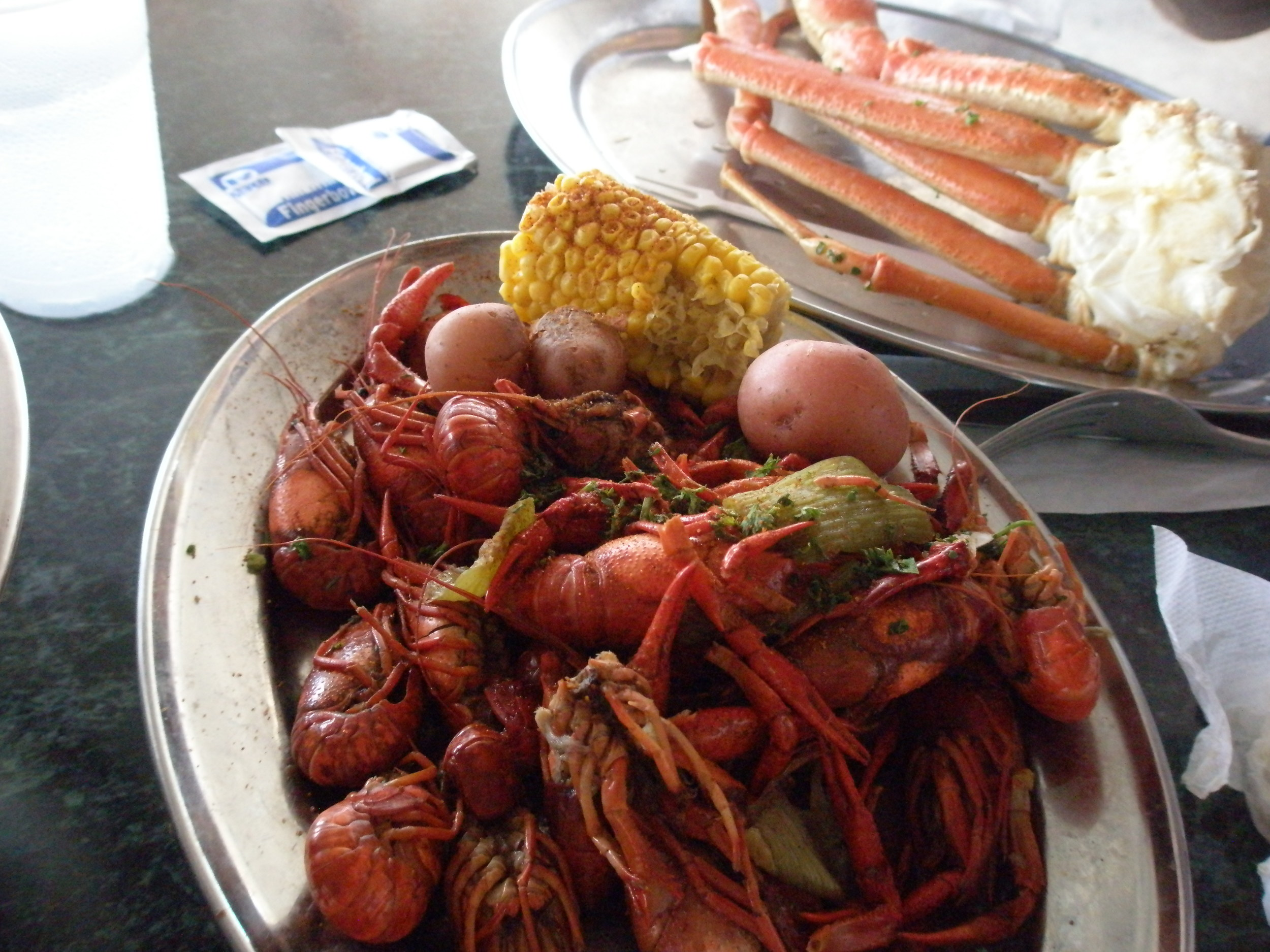 crawfish and snowcrab