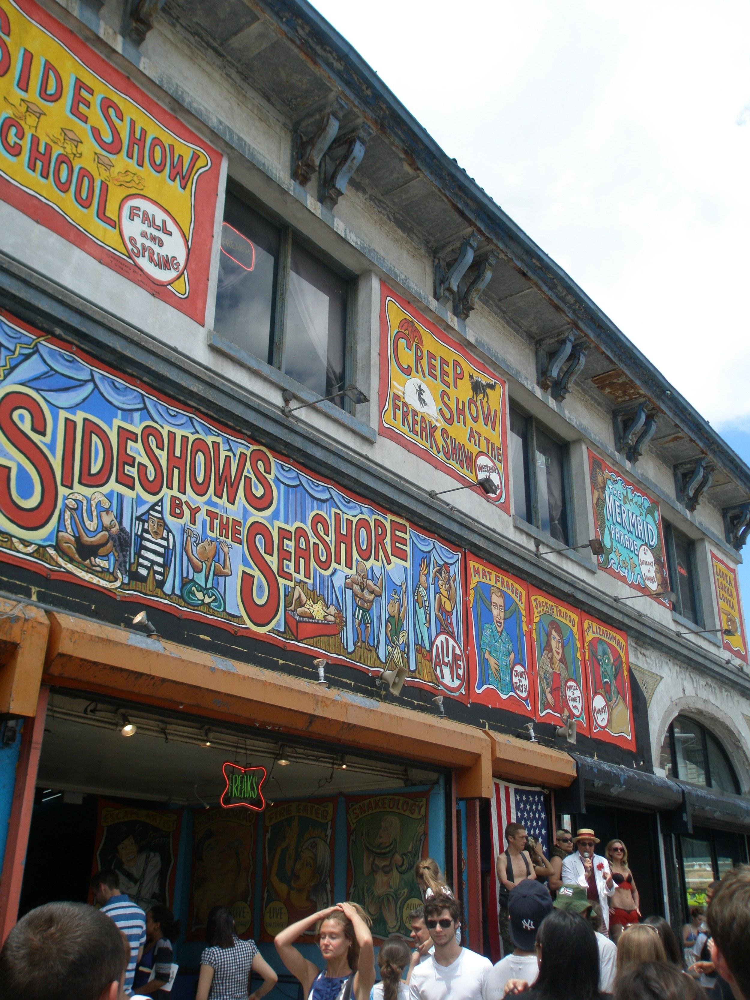 coney sideshow