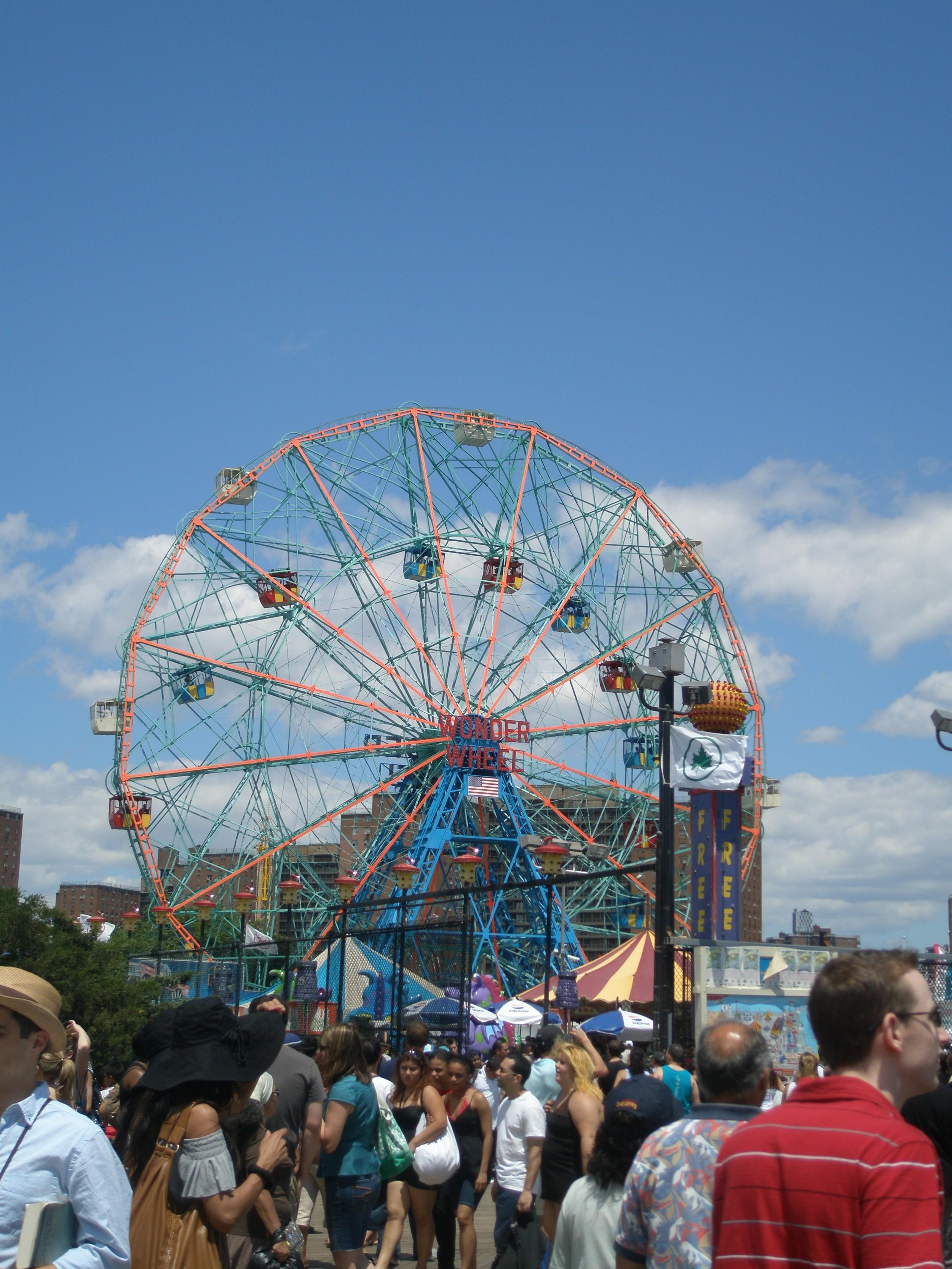 coney wonder wheel 2